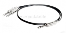 Y-Kabel ( Klinkenstecker 6,3mm )
