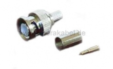 Patchkabel - BNC-Stecker metall  ( Koaxialkabel 50 Ohm )