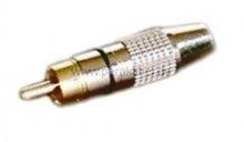 Lautsprecherkabel (Boxenkabel) Lautsprecherstecker auf RCA-Stecker