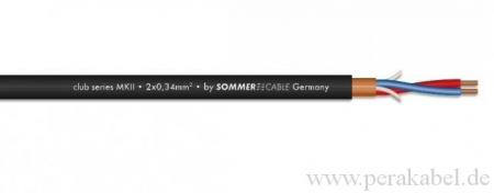 Mikrofonkabel Sommer Club Series MKII-XLR Bu ( On/Off Schalter )
