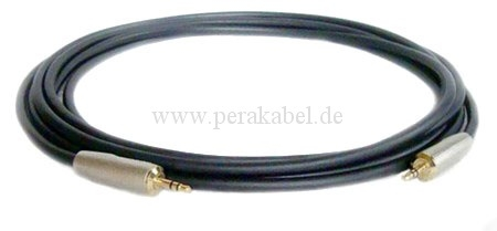 Stereokabel Klinkenstecker 6,3mm Neutrik NP3C ( Klotz MY206 )